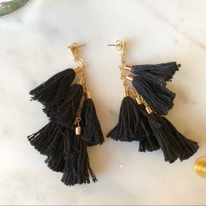 Ettika Day Dreamer Tassel Earrings